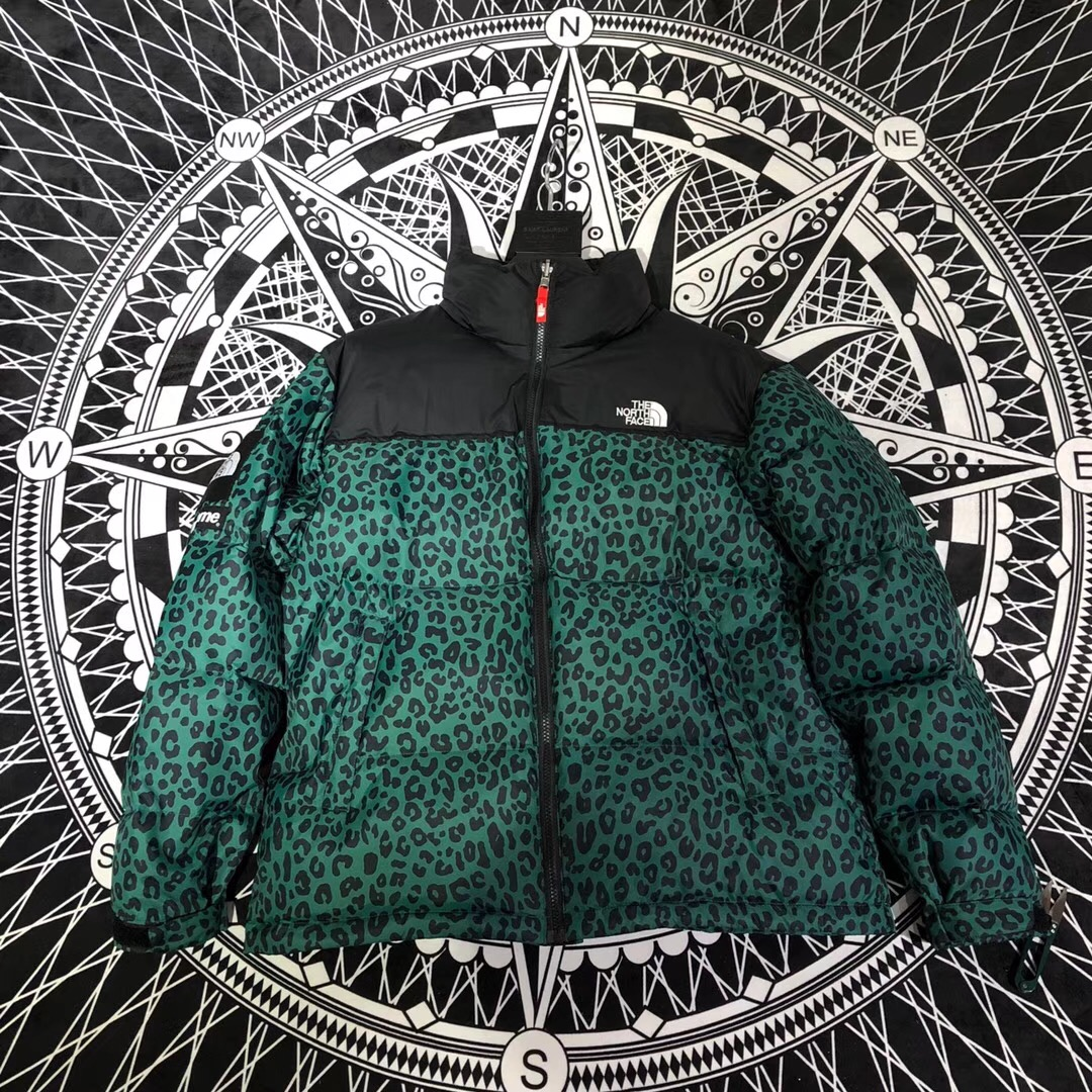 758bdb8dc4bc Best Replica Supreme The North Face Leopard Nuptse Jacket FW 11