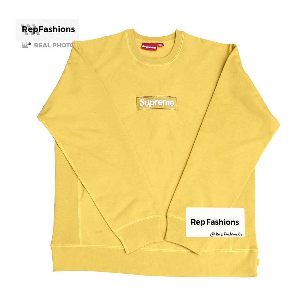 b2f3513c201 Replica Supreme Box Logo Crewneck 18FW - Best Quality Supreme Bogo ...