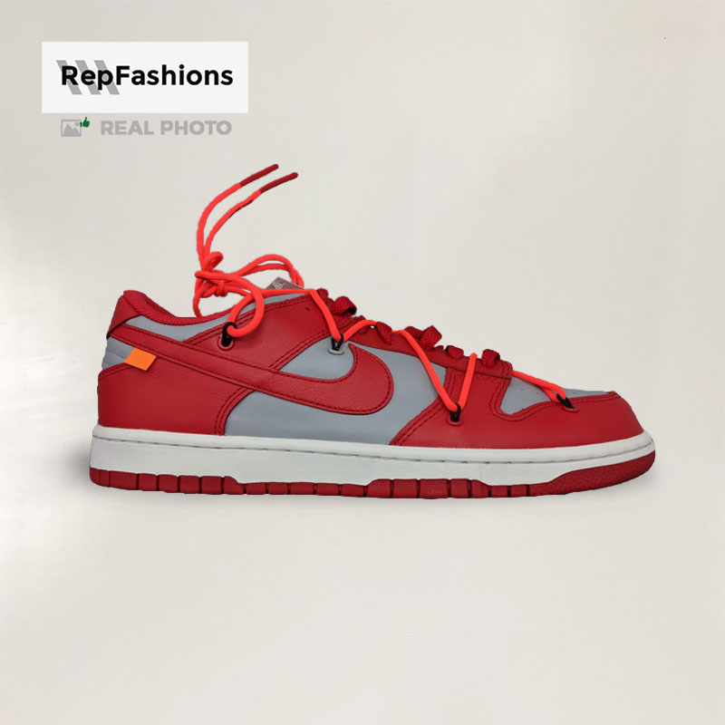High Quality Rep SB Dunk Off White University Red