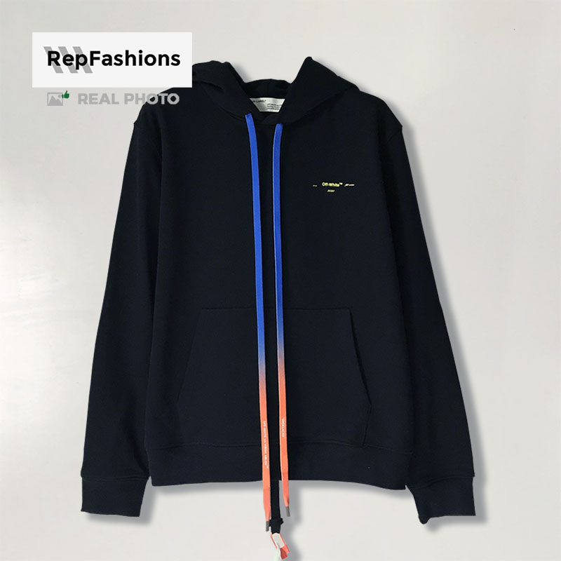 best off white acrylic arrow oversized hoodie