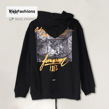 Off White 1863 Impressionism Print Hoodie REP